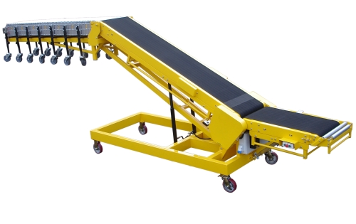 Vehicle loading conveyor