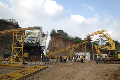 Stone Crusher erection 2 r